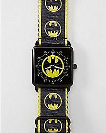 Batman DC Comics Seatbelt Watch