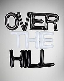 Over The Hill Inflatable Banner