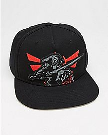 Shadow Link Snapback Hat - The Legend Of Zelda