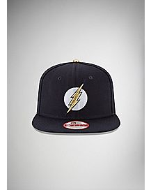 New Era Embroidered Logo The Flash Snapback Hat