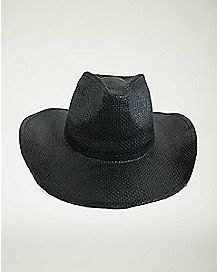 Black Basic Cowboy Hat