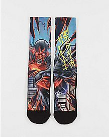 DC Comics Forever Evil Reverse Flash Crew Socks