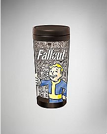 Thumbs Up Vault Boy Fallout Travel Mug - 16 oz.