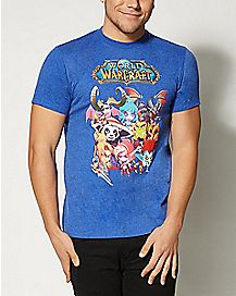 Group World of Warcraft T shirt
