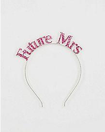 Future Mrs Headband Pink