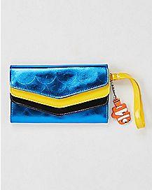 Triple Flap Envelope Finding Dory Wallet