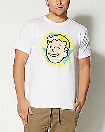 White Fallout T shirt