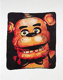 Freddy Five Nights At Freddy's Fleece Blanket