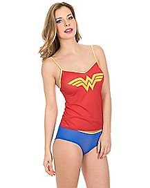 Wonder Woman DC Comics Tank and Panty Set
