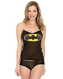 Batman DC Comics Tank and Panty Set