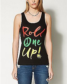 Roll One Up Tank Top