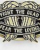 Fight the Dead Walking Dead Belt Buckle
