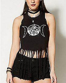 Mystical Fringe Tank Top