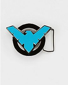 Nightwing Symbol DC Comics Belt Buckle