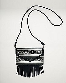 Fringe Tribal Envelope Wallet
