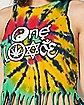 CMT - One Love Rasta Fringe Tank Top