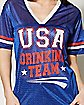 USA Drinking Team Jersey T shirt