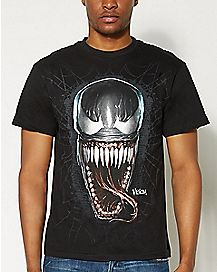 Venom Face Marvel T Shirt