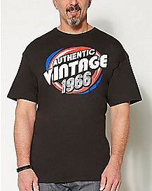 1966 Vintage Birthday T shirt