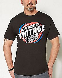 1956 Vintage Birthday T shirt