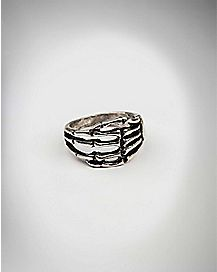 Skeleton Hand Ring