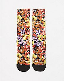 Character Faces Five Nights at Freddy's Crew Socks