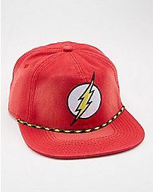 Slouchy The Flash DC Snapback Hat - DC Comics