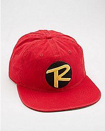 Slouchy Robin Snapback Hat