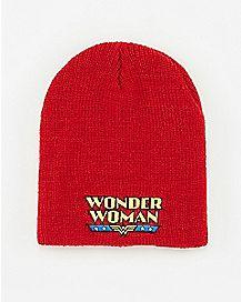 Wonder Woman DC Beanie Hat