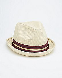Natural Tan Fedora Hat