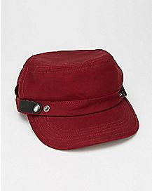 Cadet Hat Maroon