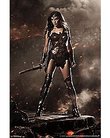 Wonder Woman Poster - Batman V Superman DC Comics