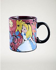 Curious Alice In Wonderland Coffee Mug - 20 oz.