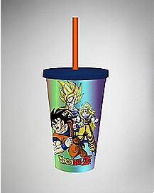 Group Dragon Ball Z Cup with Straw - 16 oz.