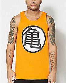 Dragon Ball Z Logo Tank Top