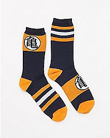 Dragonball Z Stripe Crew Socks