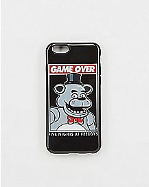 Game Over Five Nights At Freddy's iPhone 6 Case
