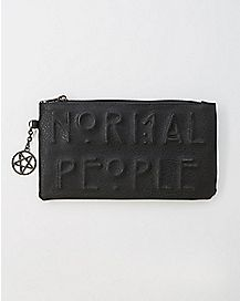 Normal People American Horror Story Zip Wallet