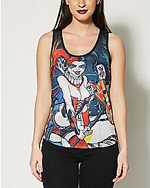 Forever Evil Harley Quinn Tank Top - DC Comics