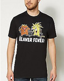 Beaver Fever Nickelodeon T Shirt