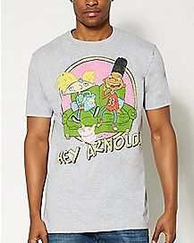 Arnold and Gerald T Shirt - Hey Arnold!