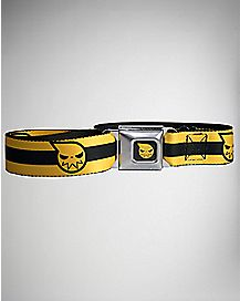 Yellow Strap Soul Eater Seatbelt Belt