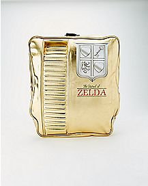 Cartridge Zelda Backpack Gold