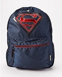 Flip Pak Reversible Superman Backpack