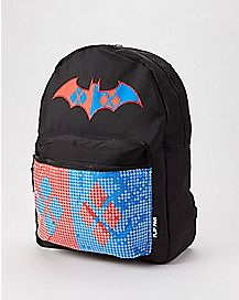 Reversible Harley Quinn Joker Backpack