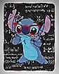 Math Stitch Disney Fleece Blanket