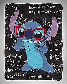 Math Stitch Disney Fleece Blanket