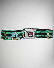 Squirtle 007 Pokemon Seatbelt Belt