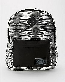 Dickies Tie Dye Backpack - Black
