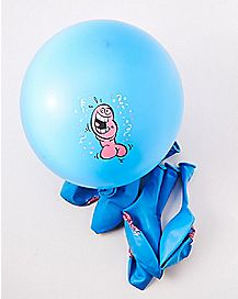 Blue Pecker Balloons 6 Pack